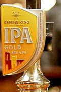 Greene King IPA Gold (Cask) - Golden Ale/Blond Ale