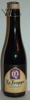 La Trappe Quadrupel Oak Aged Batch #10