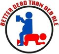 N�rrebro/Beer Here Better Dead Than Red Ale