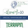 Terrapin Anniversary Ale 2012