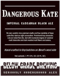 Below Grade Dangerous Kate