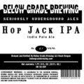 Below Grade Hop Jack IPA - India Pale Ale (IPA)