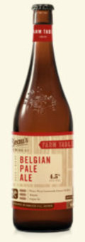 Beaus Farm Table   Belgian Pale Ale