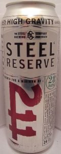 Steel Reserve 211 High Gravity (6%) - Malt Liquor
