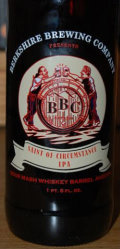 Berkshire Saint Of Circumstance Sour Mash Whiskey Barrel Aged IPA  - India Pale Ale (IPA)