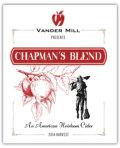 Vander Mill Chapman�s Blend - Cider