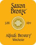 Alfred�s Saxon Bronze - Bitter