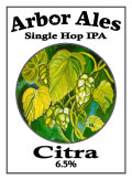 Arbor Single Hop IPA Citra