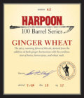 Harpoon 100 Barrel Series #42 - Ginger Wheat