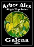 Arbor Single Hop Galena  - American Pale Ale