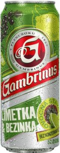 Gambrinus Limetka & Bezinka - Fruit Beer