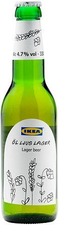IKEA �l Ljus Lager - Pale Lager