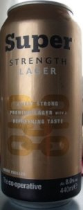 Co-op Super Strength Lager - Imperial Pils/Strong Pale Lager