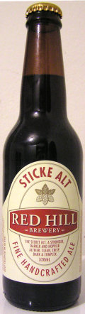 Red Hill Sticke Alt - Altbier
