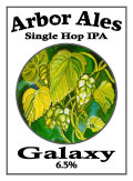 Arbor Single Hop IPA Galaxy