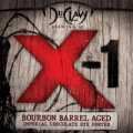 DuClaw Bourbon Barrel X-1 (Imperial Chocolate Rye Porter) - Imperial/Strong Porter