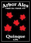 Arbor FF #15- Quinque Pale - American Pale Ale