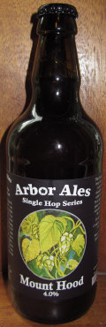 Arbor Single Hop Mount Hood - Golden Ale/Blond Ale