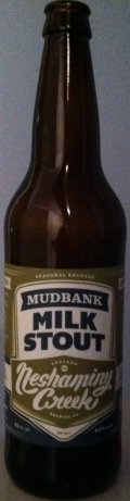 Neshaminy Creek Mudbank Milk Stout