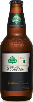 Summit Unchained 10 Belgian Style Abbey Ale
