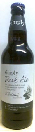 Tesco Simply Dark Ale - Bitter