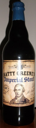 Natty Greenes Cellar Series Imperial Stout