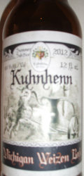Kuhnhenn Michigan Weizen Bock