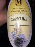 Maxbrauerei Zwick�l Hell