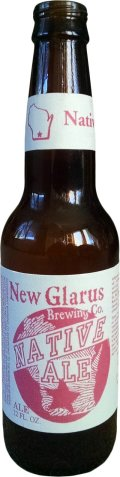 New Glarus Native Ale - Amber Ale