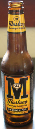 Mustang Session �33 Ale - Golden Ale/Blond Ale