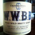 Crooked Stave Wild Wild Brett Blue (WWBB) - Black IPA