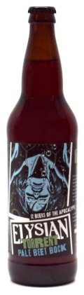 Elysian 12 Beers of Apocalypse # 7 - Torrent Pale Beet Bock - Spice/Herb/Vegetable