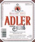 Adler Brau Marquette Pilsner
