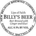 New Belgium Lips of Faith - Billy�s Beer - Fruit Beer