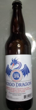Alley Kat Dragon Series Indigo Dragon Double IPA