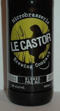Le Castor Blonde Pale Ale