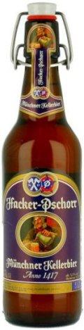 Hacker-Pschorr M�nchner Kellerbier - Anno 1417