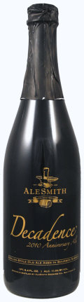 AleSmith Barrel Aged Decadence 2010
