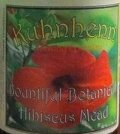 Kuhnhenn Bountiful Botanical Hibiscus Mead - Mead