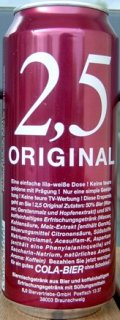 2.5 Original Cola-Bier