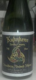 Kuhnhenn Strawberry Rhubarb Mead - Mead