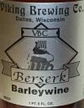 Viking Brewing Berserk Barleywine - Barley Wine
