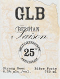 Great Lakes Brewing 25th Anniversary Belgian Saison