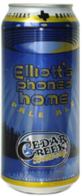 Cedar Creek Elliott�s Phoned Home American Pale Ale