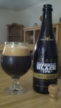 Stone 15th Anniversary Imperial Black IPA Aged in Lowland Scotch Barrels