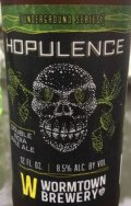 Wormtown Hopulence - American Double I.P.A.
