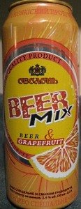 Obolon Beer Mix (Grapefruit & Beer)