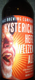 Climax Hysterical Hefeweizen Ale