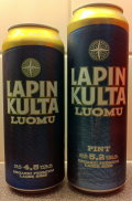 Lapin Kulta Premium Luomu Lager (5.2 % version) - Premium Lager
