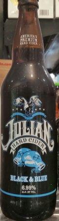 Julian Hard Cider Black & Blue